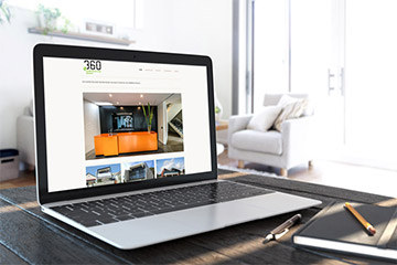 espresso media portfolio image for 360 Construction Group