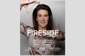 Fireside Magazine Cover