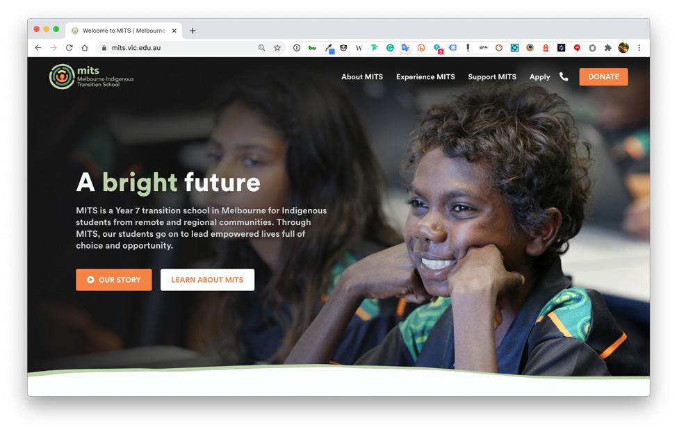 MITS website image